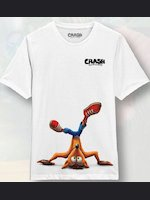 Tričko Crash Bandicoot - Crash Breakdance (velikost L)