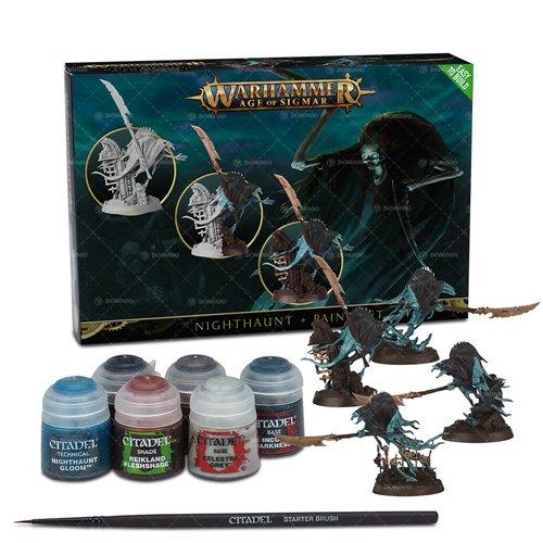 Warhammer: Age of Sigmar - Nighthaunt + Paint Set (PC)