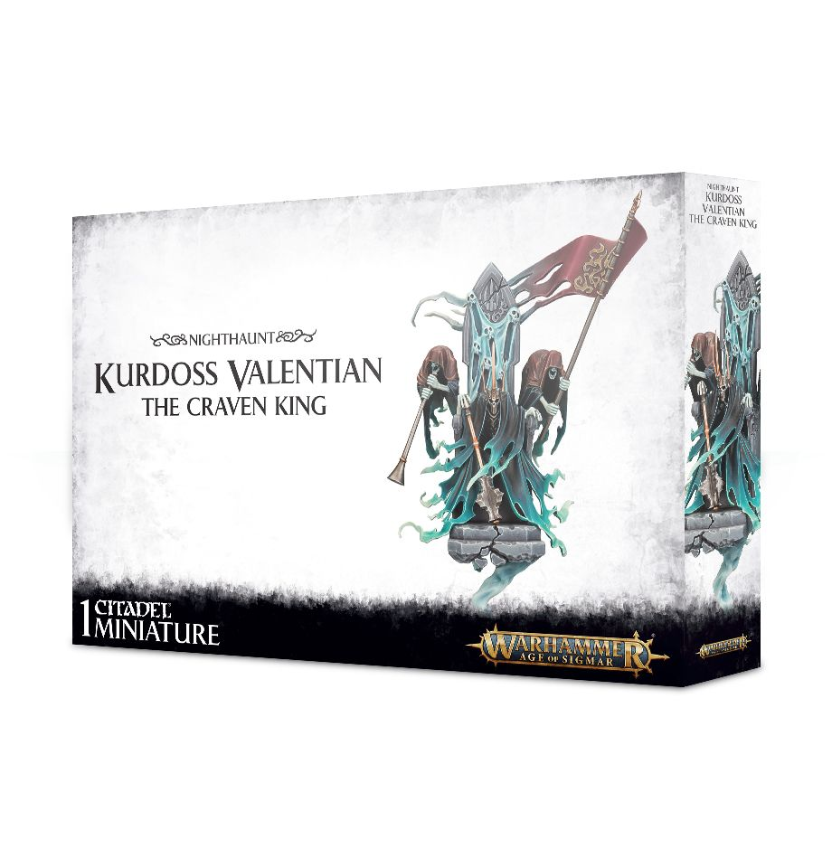 W-AOS: Nighthaunt - Kurdoss Valentian, The Craven King (PC)