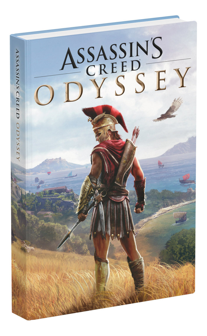 Oficiální průvodce Assassins Creed: Odyssey - Collectors Edition (PC)