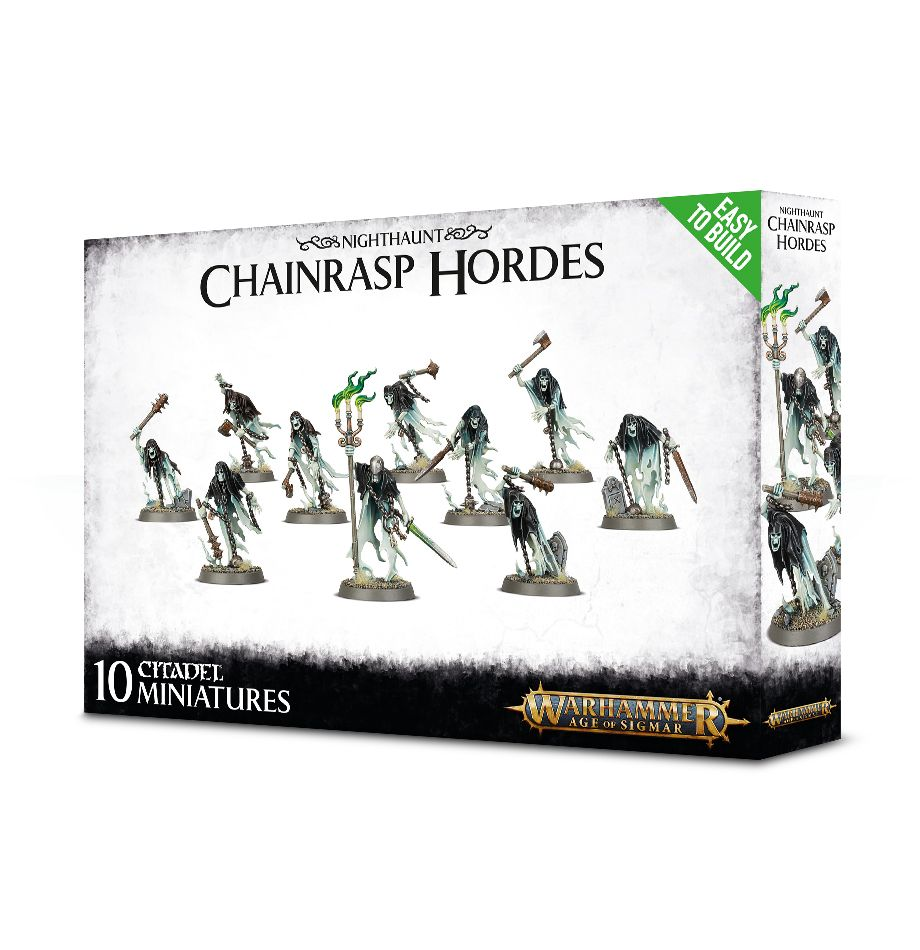 W-AOS: Nighthaunt - Chainrasp Hordes (10 figurek) (PC)