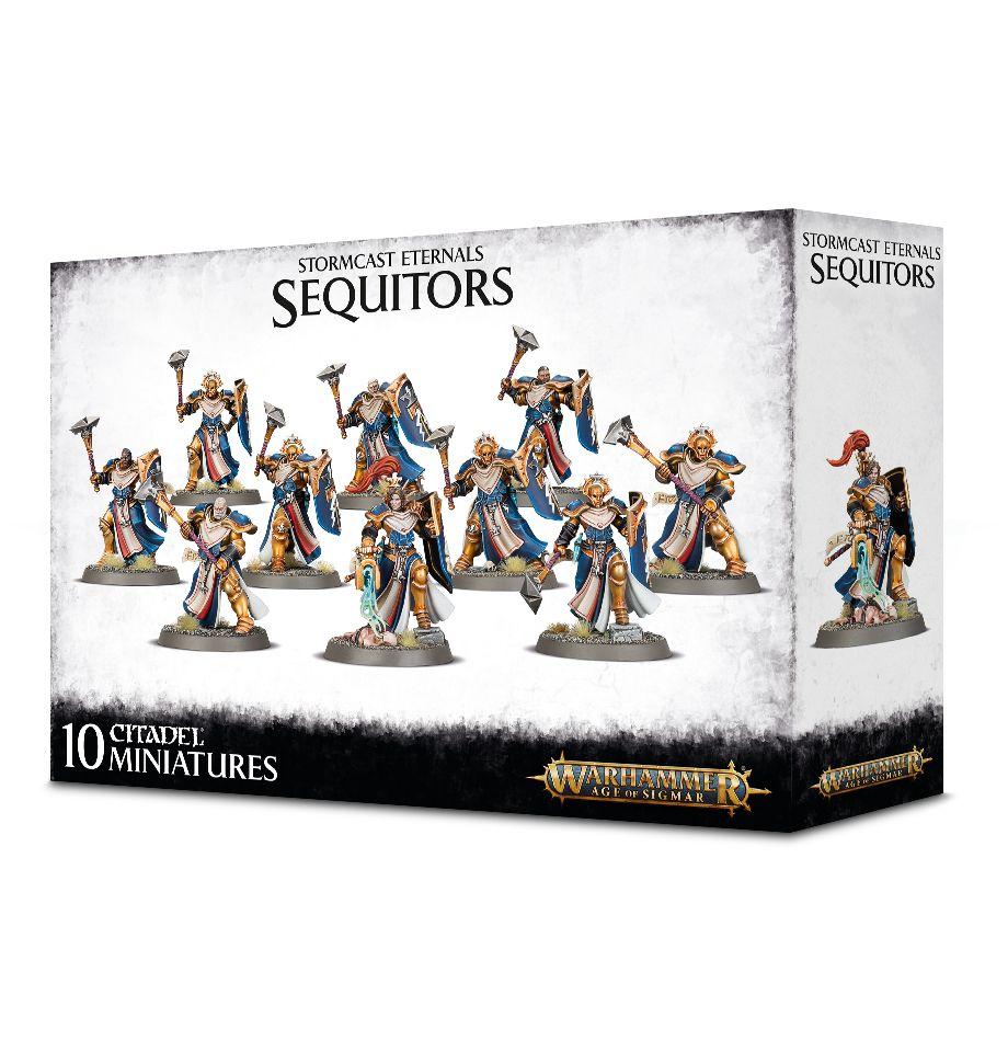 W-AOS: Stormcast Eternals - Sequitors (10 figurek) (PC)