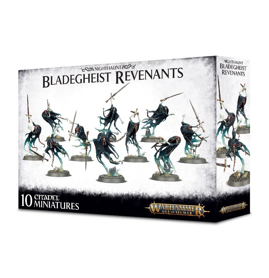 W-AOS: Nighthaunt - Bladegheist Revenants (10 figurek) (PC)