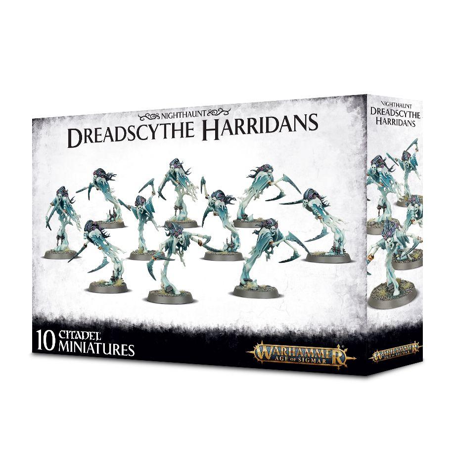 W-AOS: Nighthaunt - Dreadscythe Harridans (10 figurek) (PC)