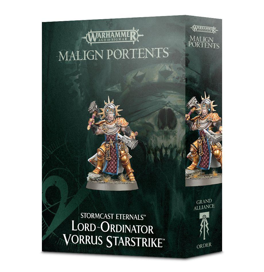 W-AOS: Stormcast Eternals - Lord-Ordinator Vorrus Starstrike (1 figurka) (PC)