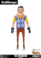 Figurka Hello Neighbor - The Neighbor (13 cm)