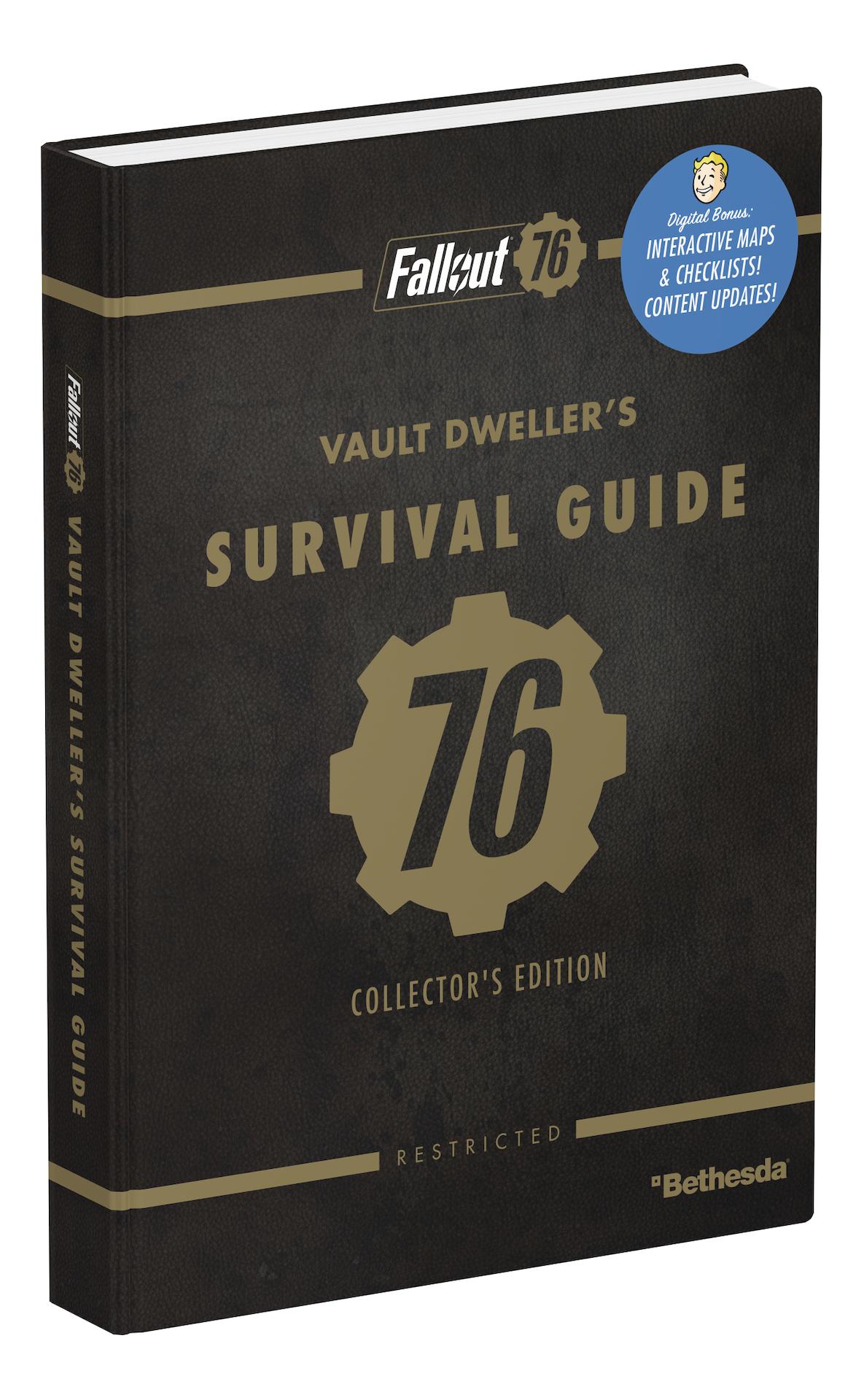 Oficiální průvodce Fallout 76 - Collectors Edition (PC)