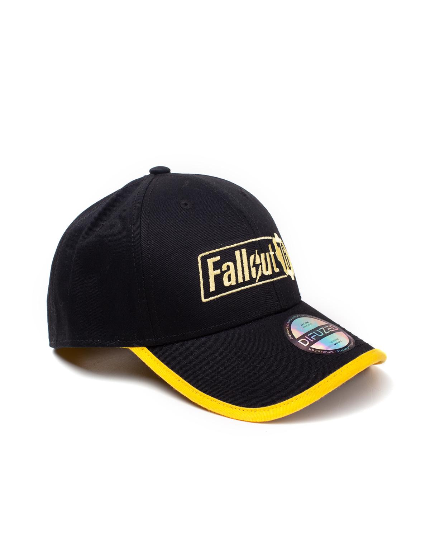 Kšiltovka Fallout 76 - Yellow Logo (PC)