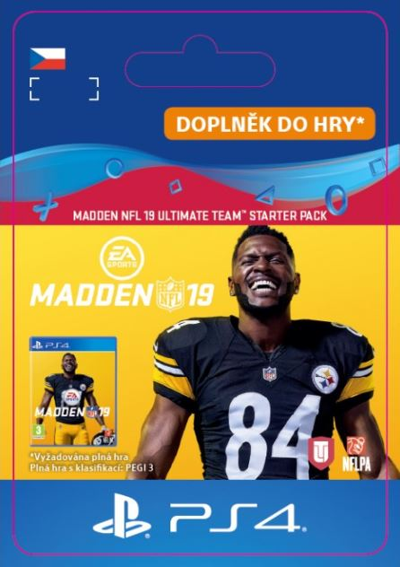 Madden NFL 19 Ultimate Team Starter Pack (PS4 DIGITAL) (PS4)