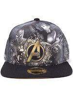 Kšiltovka Avengers - Heroes All AOP Snapback