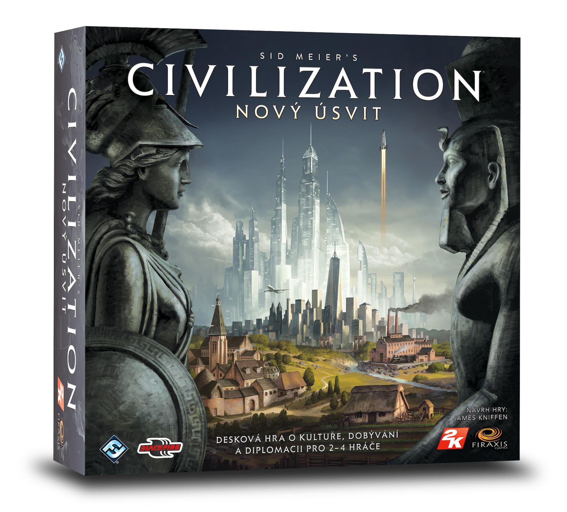 Desková hra Civilization: Nový úsvit (PC)