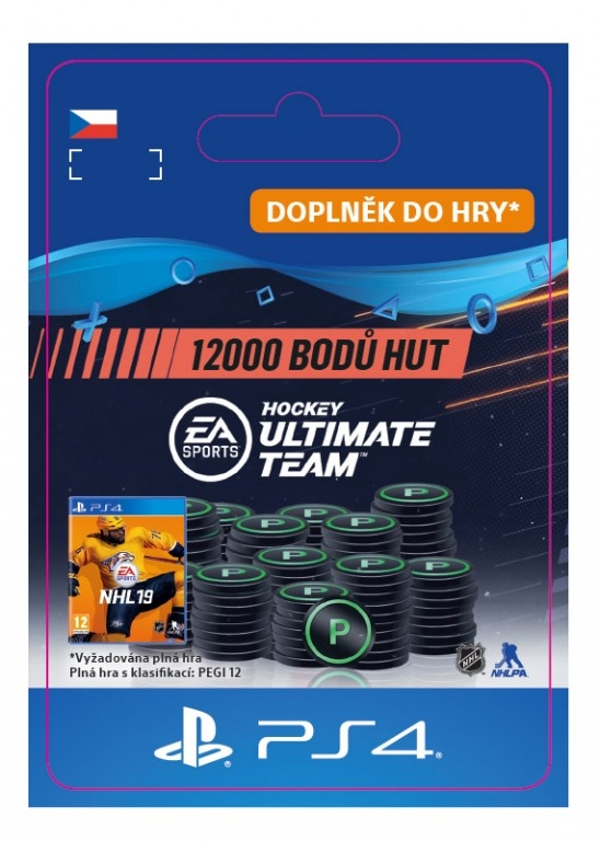 12000 NHL 19 Points Pack (PS4 DIGITAL)