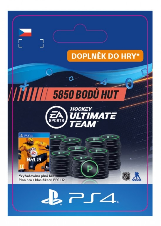 5850 NHL 19 Points Pack (PS4 DIGITAL) (PS4)