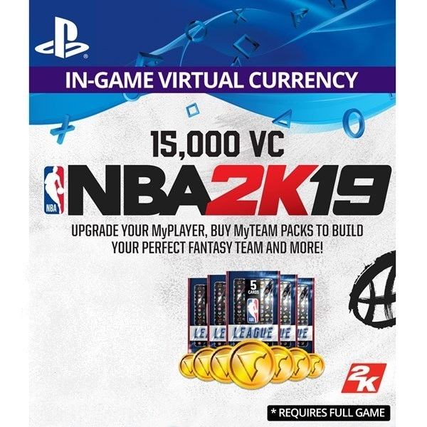 NBA 2K19 - 15,000 VC (PS4 DIGITAL)