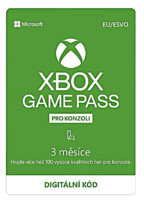 Game Pass předplatné na 3 měsíce (XONE DIGITAL)