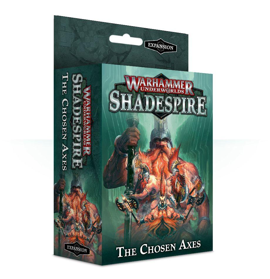 Desková hra Warhammer Underworlds: Shadespire - The Chosen Axes (rozšíření) (PC)