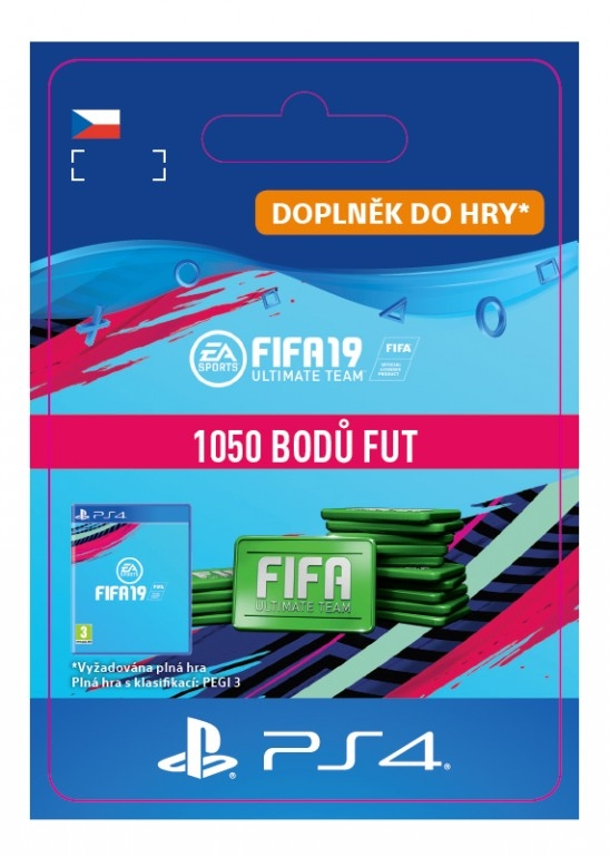 FIFA 19 1050 Points Pack (PS4 DIGITAL)