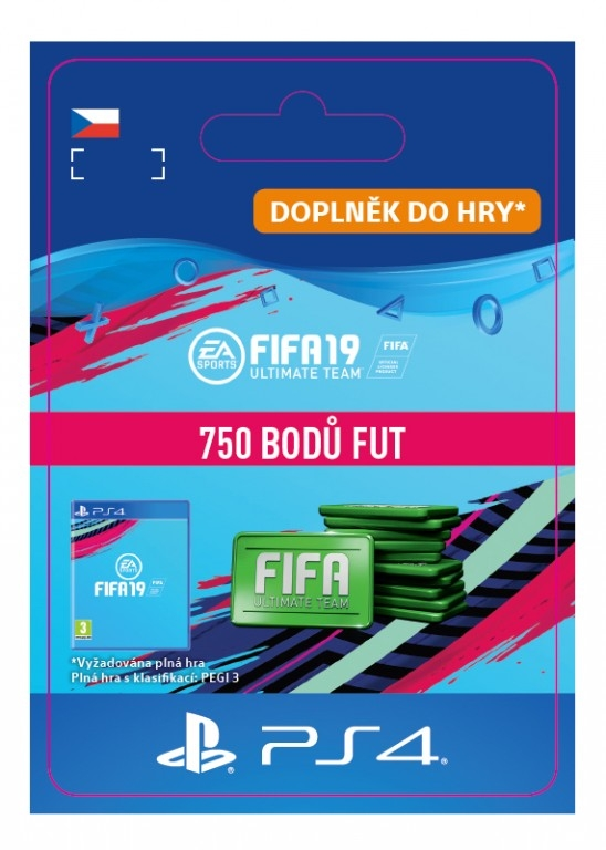 FIFA 19 750 Points Pack (PS4 DIGITAL) (PS4)