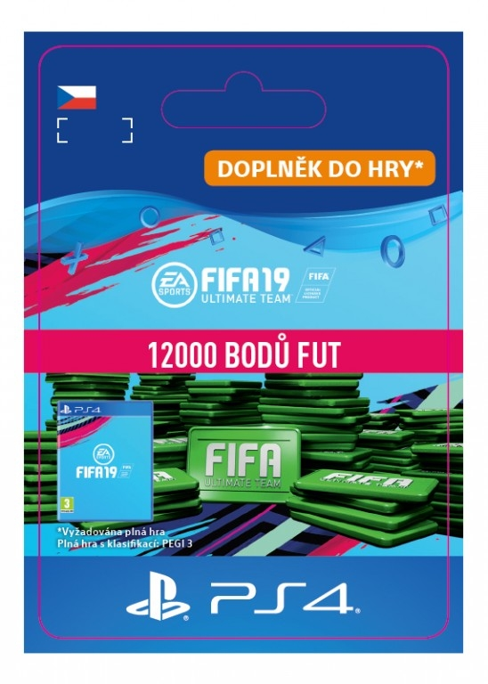 FIFA 19 12000 Points Pack (PS4 DIGITAL)
