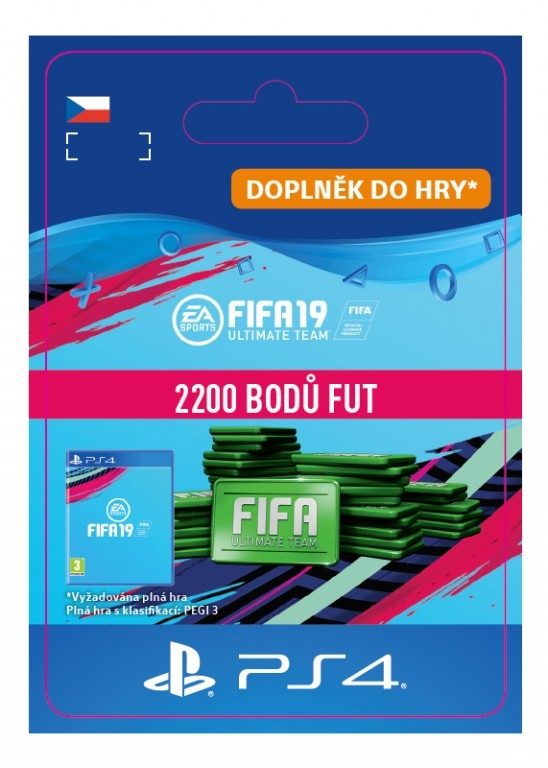 FIFA 19 2200 Points Pack (PS4 DIGITAL)