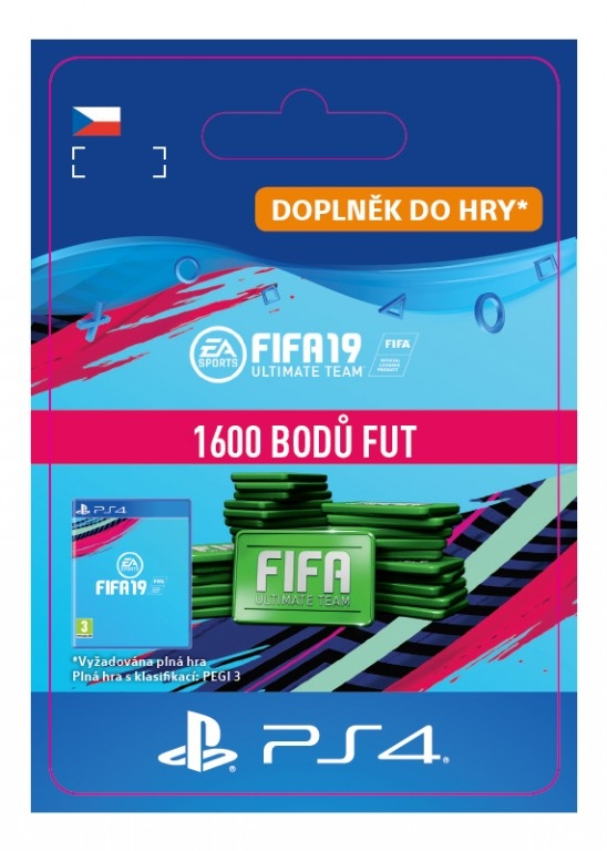 FIFA 19 1600 Points Pack (PS4 DIGITAL)