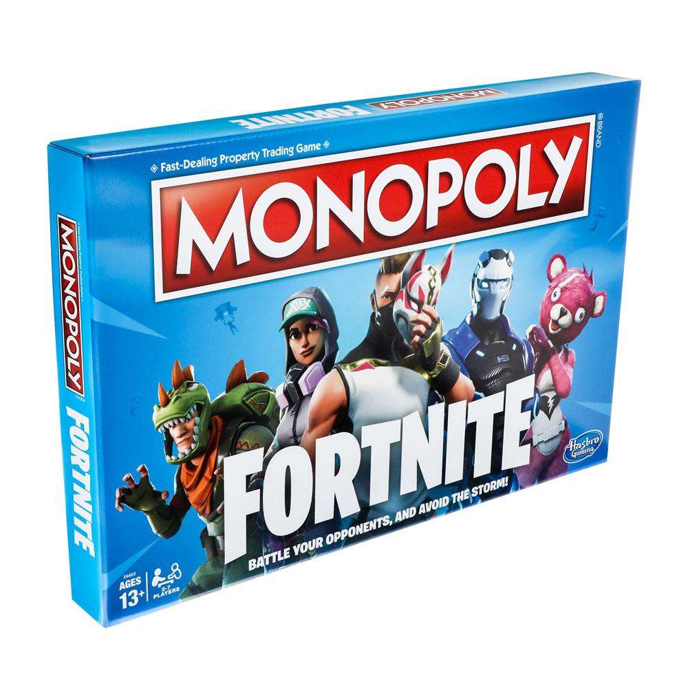 Desková hra Monopoly Fortnite (PC)