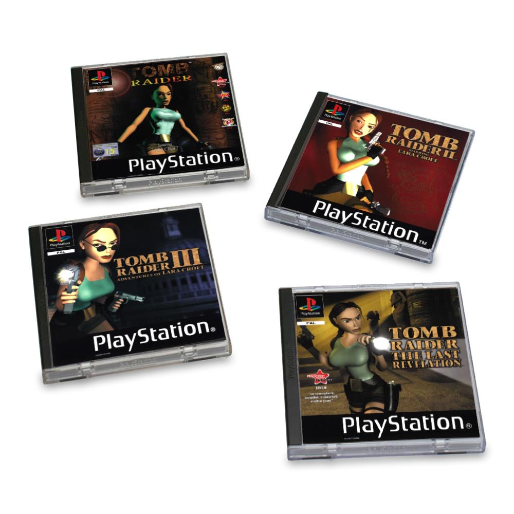Podtácky Tomb Raider - PS1 (PC)