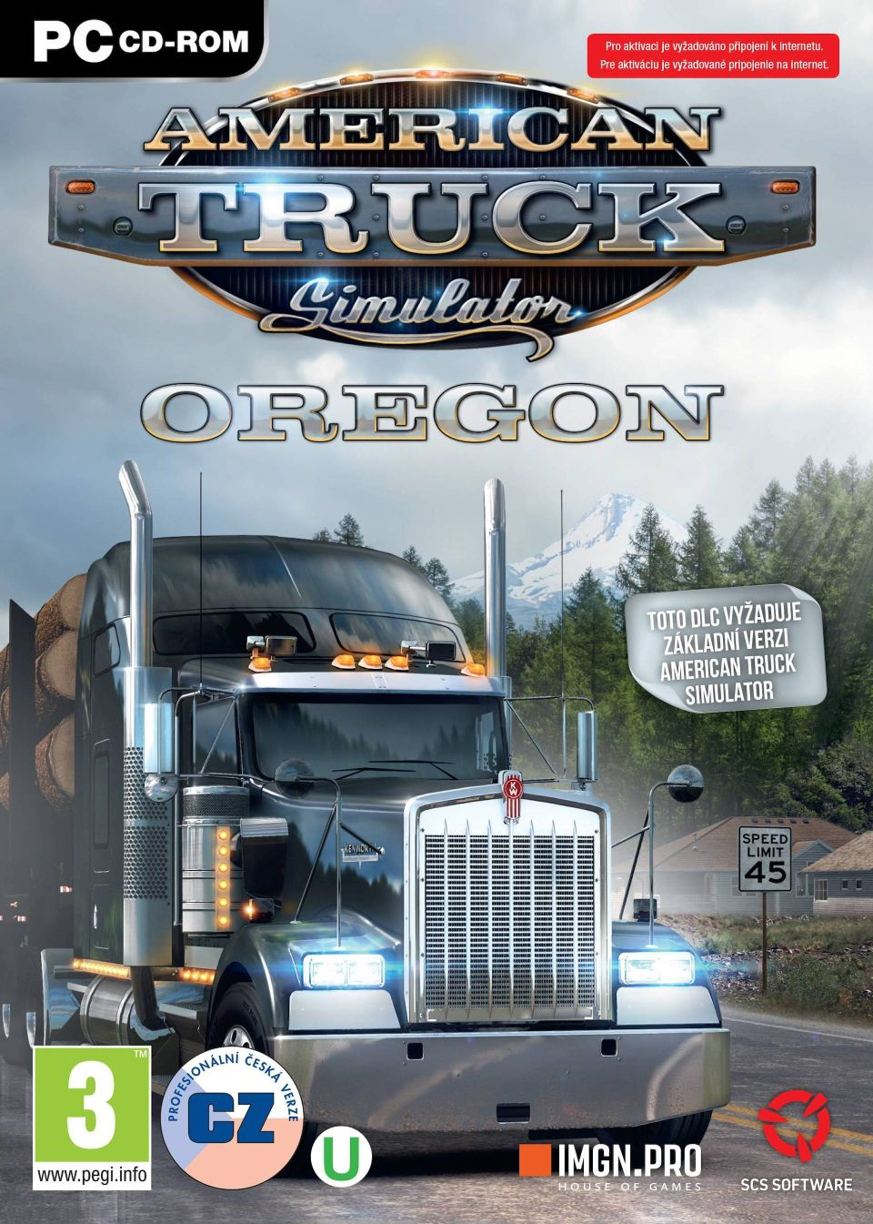 American Truck Simulátor: Oregon (PC)