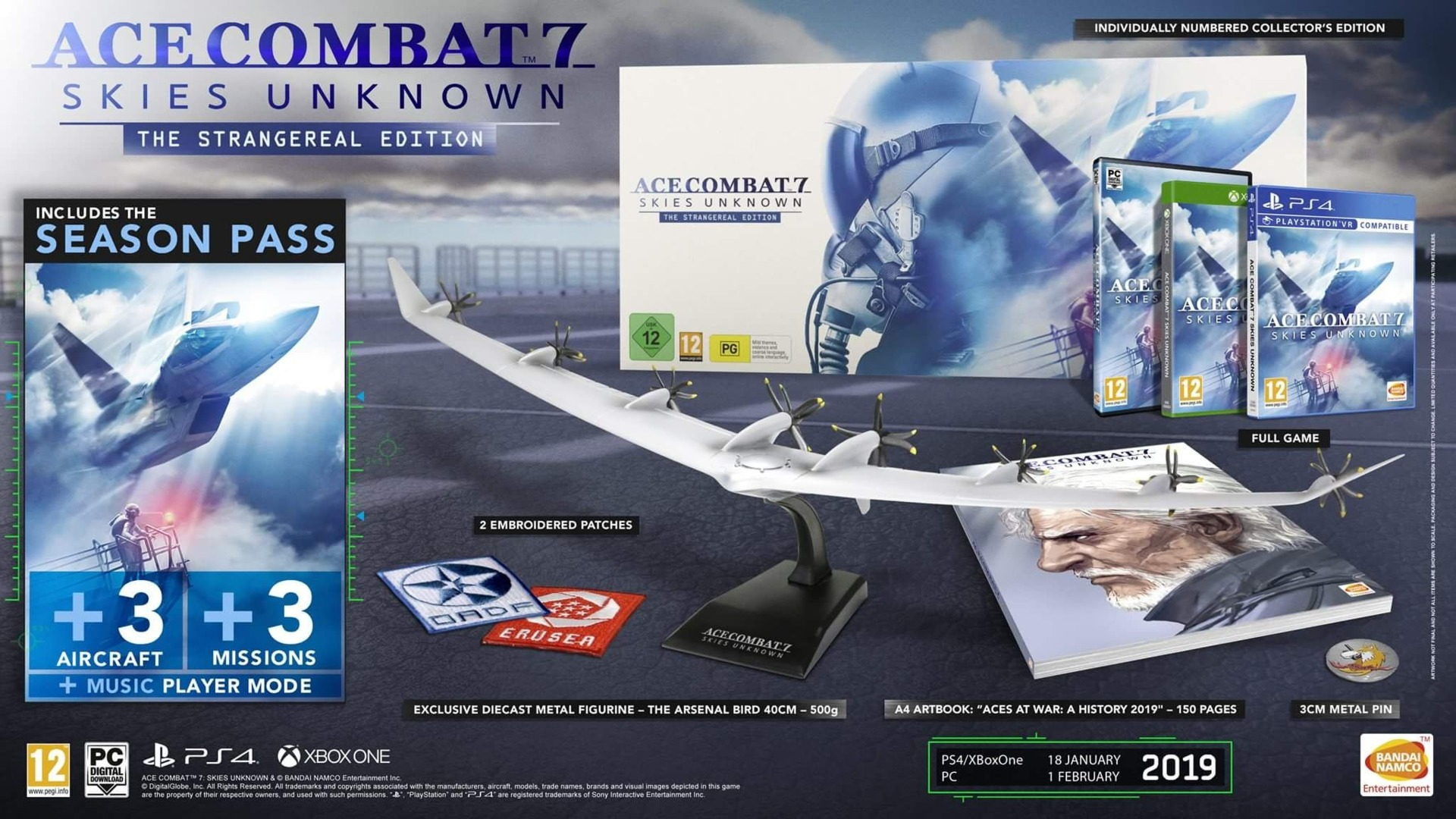 Ace Combat 7: Skies Unknown - Collectors Edition (PC)
