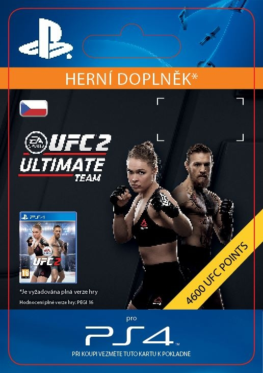 EA Sports UFC 2 - 4600 UFC POINTS (PS4 DIGITAL)