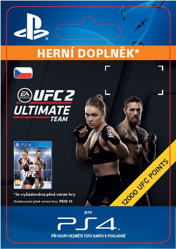 EA Sports UFC 2 - 12000 UFC POINTS (PS4 DIGITAL)