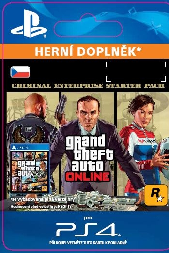 GTA Online: Criminal Enterprise Starter Pack (PS4 DIGITAL)