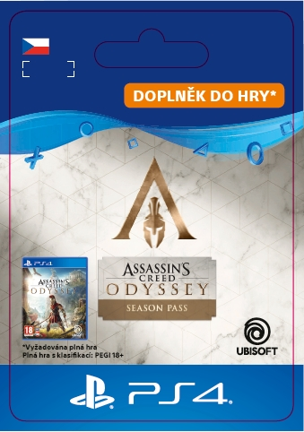Assassins Creed Odyssey Season Pass (PS4 DIGITAL)