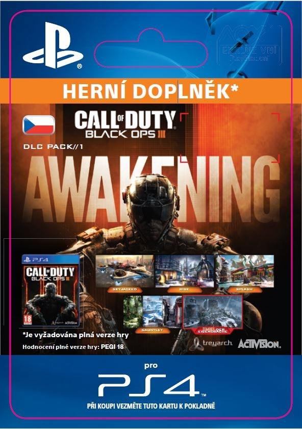 Call of Duty: Black Ops III - Awakening (PS4 DIGITAL)