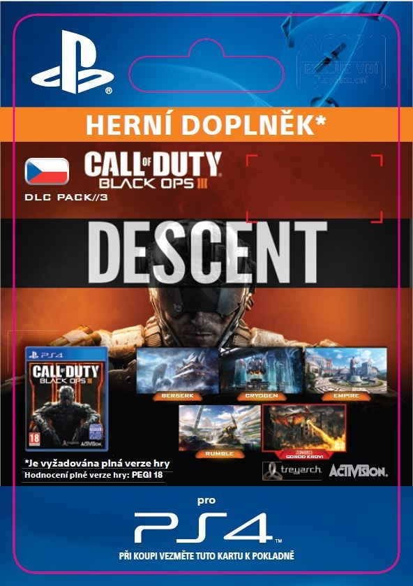 Call of Duty: Black Ops III - Descent (PS4 DIGITAL)