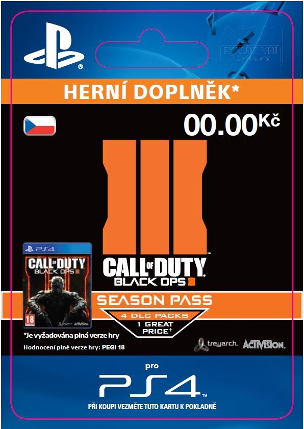 Call of Duty: Black Ops III - Season Pass (PS4 DIGITAL)