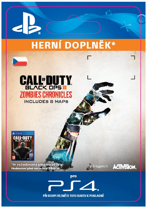 Call of Duty: Black Ops III - Zombies Chronicles (PS4 DIGITAL)