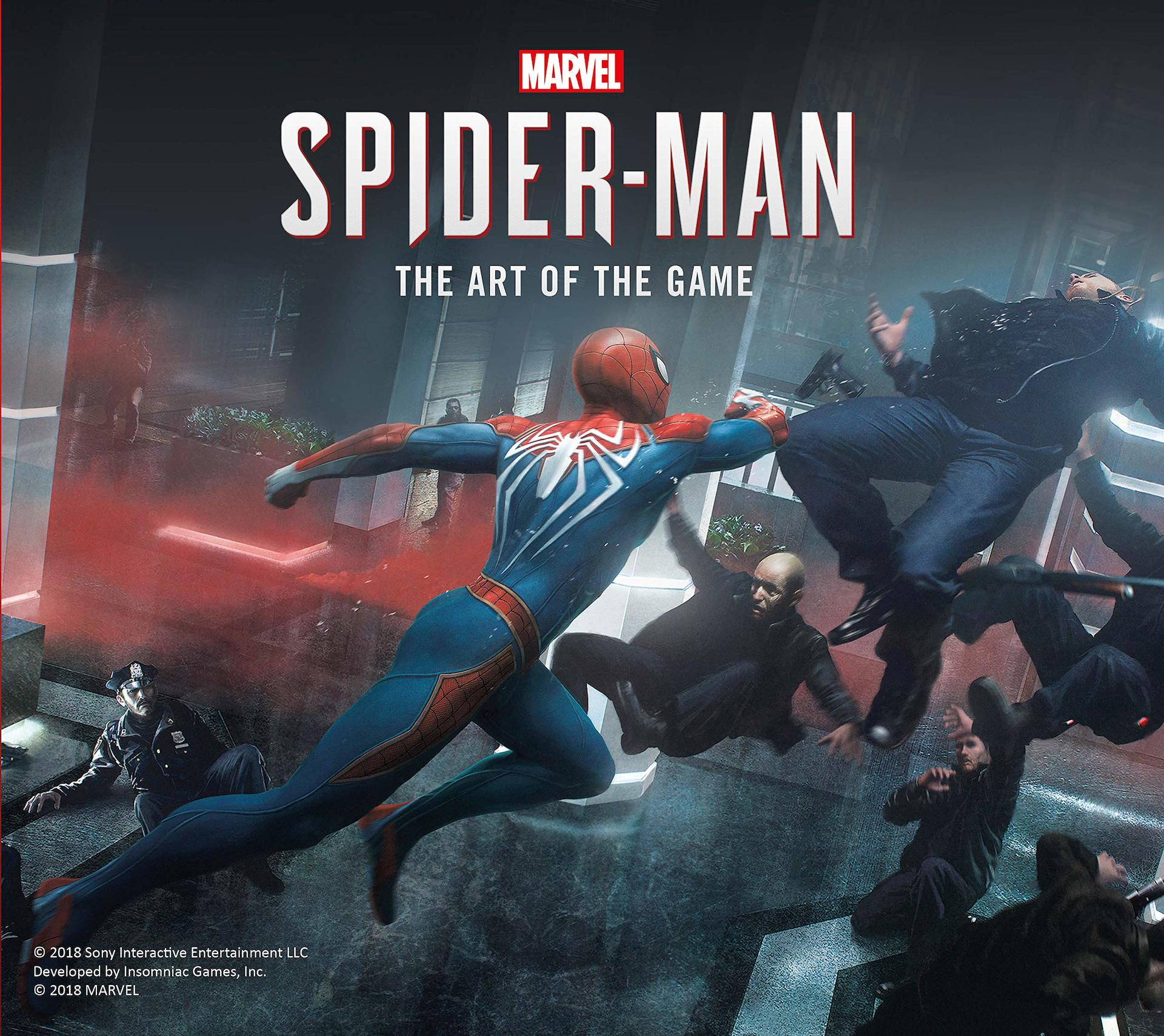 Kniha The Art of Marvels Spider-Man (PC)