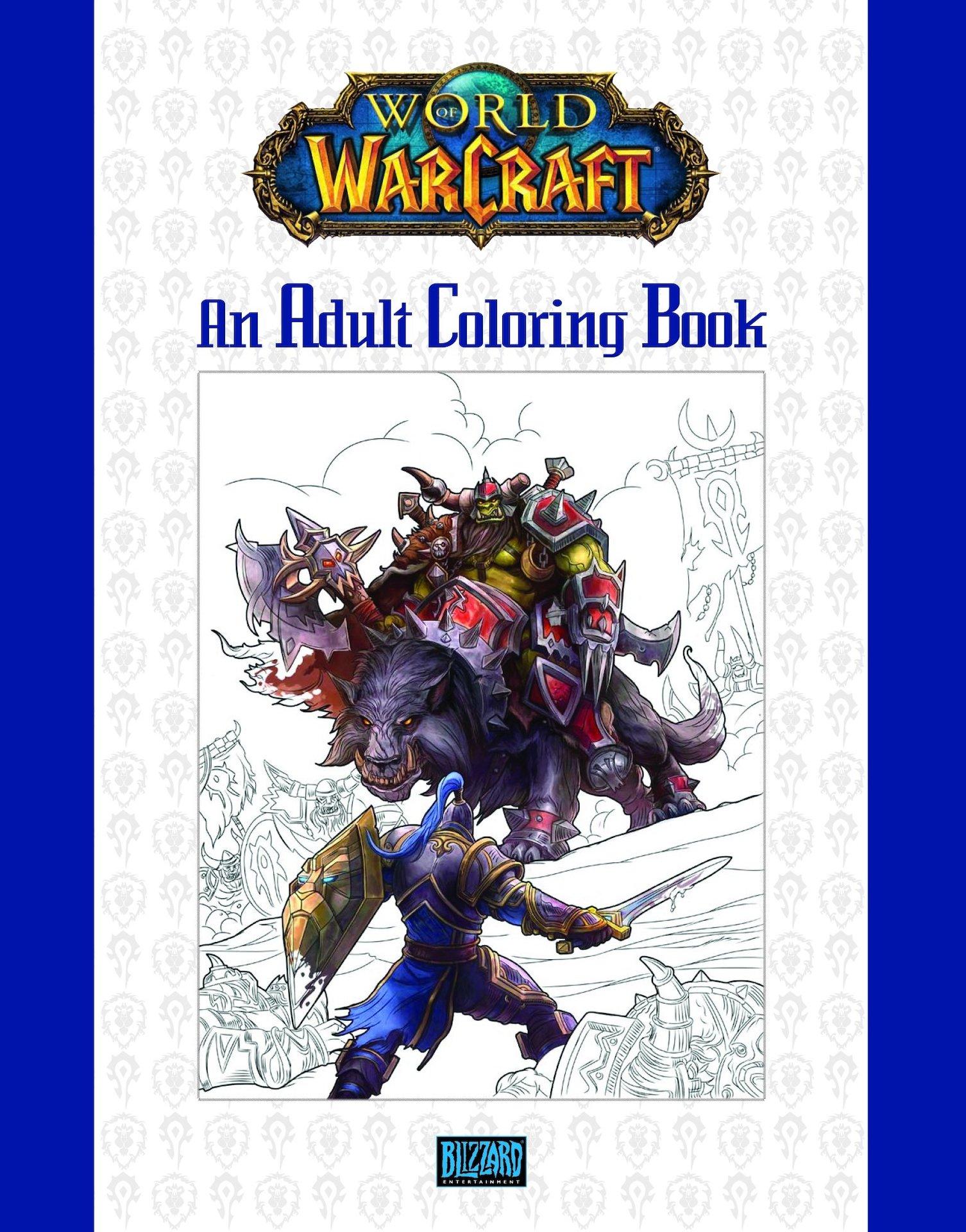 Omalovánky pro dospělé World of Warcraft (PC)
