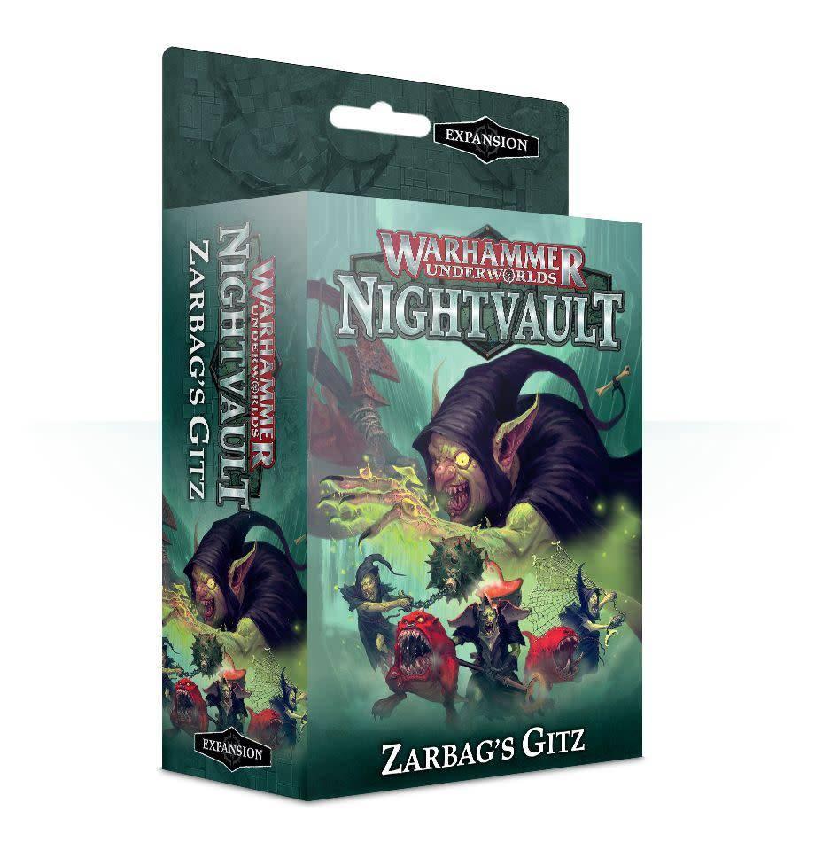 Desková hra Warhammer Underworlds: Nightvault – Zarbags Gitz (rozšíření) (PC)