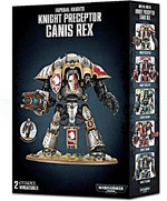 W40k: Imperial Knight Preceptor Canis Rex