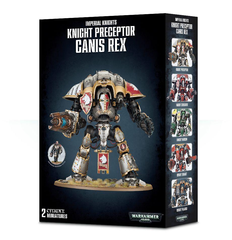 W40k: Imperial Knight Preceptor Canis Rex (2 figurky) (PC)