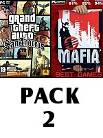 Pack 2: Grand Theft Auto: San Andreas + Mafia