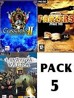 Pack 5: Cossacks 2 + Codename Panzers: Phase Two + 1. Světová válka (PC)