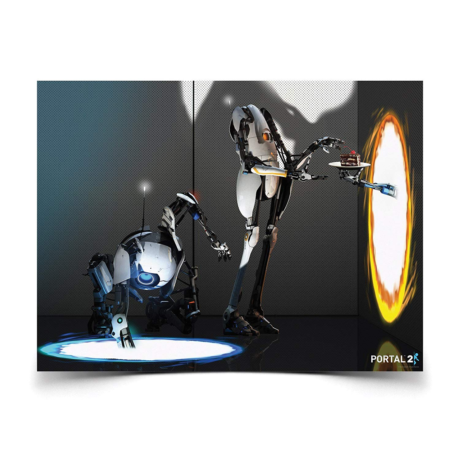 Plakát Portal 2 - Atlas and P-Body (PC)
