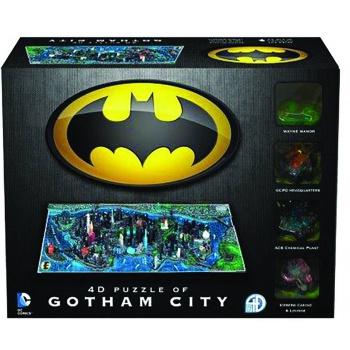 Puzzle Batman - Gotham City Citiscape 4D (PC)
