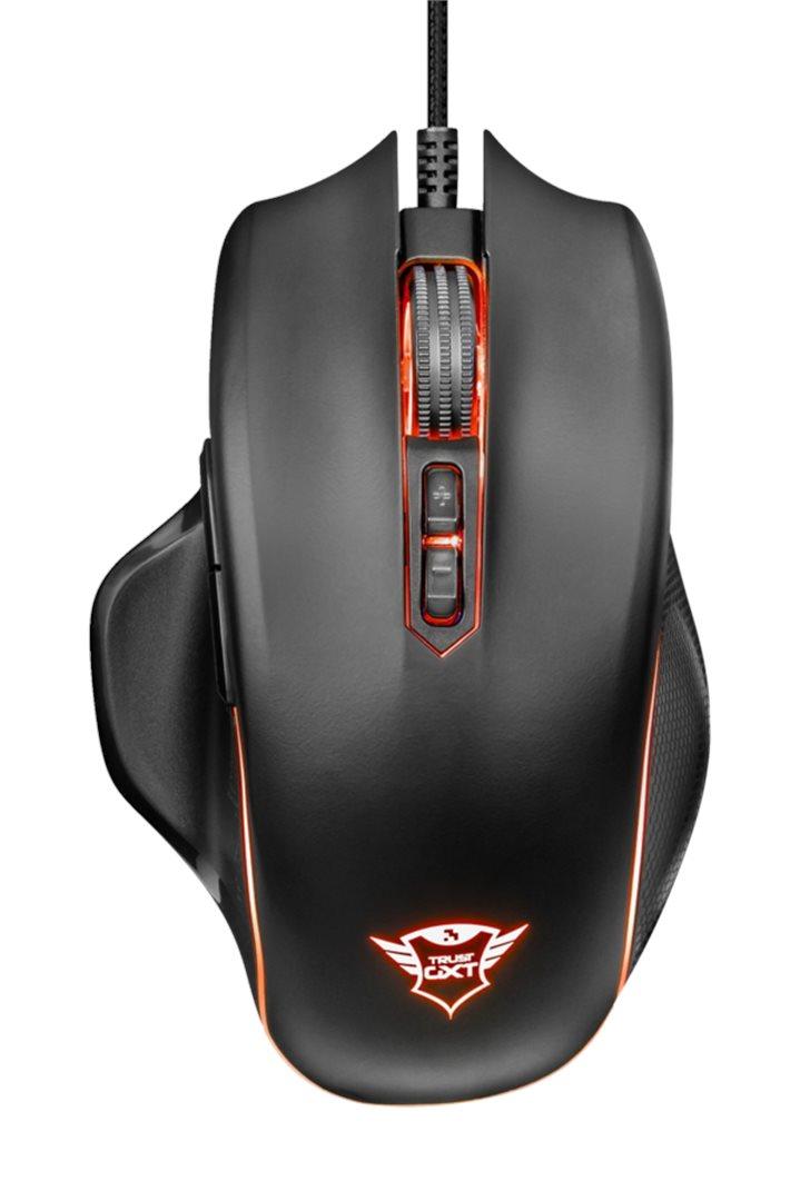 Herní optická myš TRUST GXT 168 Haze Illuminated Gaming (PC)