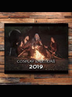 Kalendář Zaklínač - Cosplay 2019
