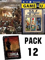 Pack 12: Praetorians + Settlers 4 GOLD + Korea (PC)