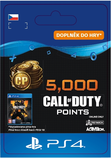 Call of Duty: Black Ops 4 - 4000 + 1000 points (PS4 DIGITAL)
